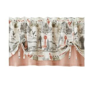 Better Homes Farmhouse Country Window Valance